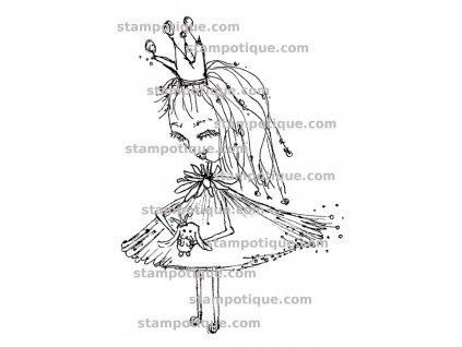 Stampotique -  Babs Bunny -  gumové razítko pro scrapbook