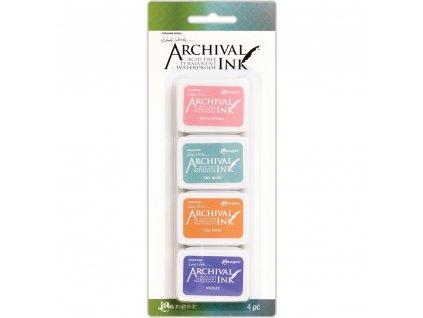 Archival Ink - Wendy Vecchi kit 3 - mini  razítkovací voděodolná barva