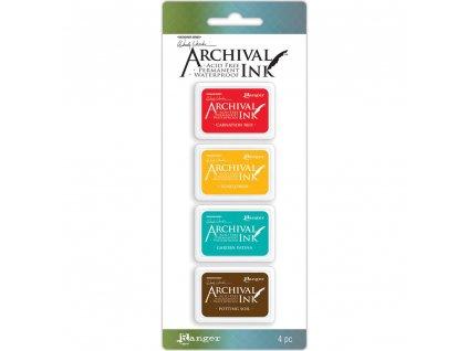 Archival Ink - Wendy Vecchi kit 1 - mini  razítkovací voděodolná barva