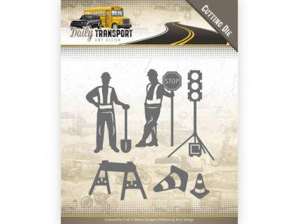 Amy Design - Daily Transport / doprava - vyřezávací šablony