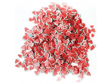 Dres my craft - WATERMELON Slices - drobné ozdoby, plátky ovoce