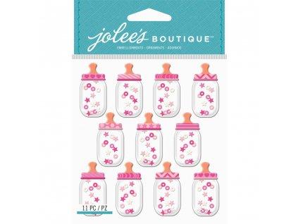 Jolees Boutique - BABY GIRL BOTTLE - dětské samolepky