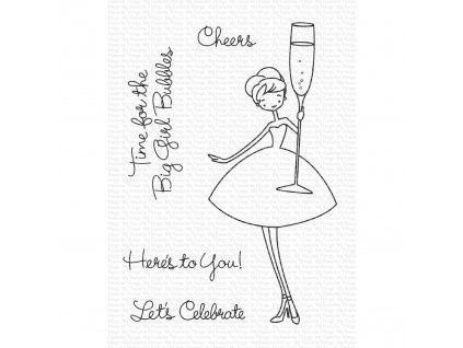 a la modes Cheers My Favorite Things Clear Stamps 849923032992 image1 57133.1574195691.1280.1280