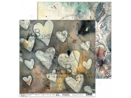 scrapbooking paper i ove you to the moon sheet 6 12 x12