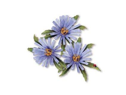 sale 659255 sizzix thinlits die set 8pk flower aster by susan tierney cockburn 30994 p