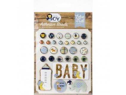 Echo Park - BABY BOY - decorative brads