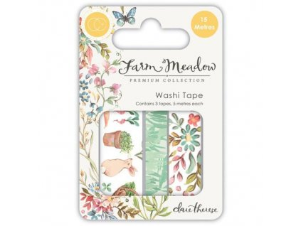 Craft Consortium Washi Tape Farm Meadow 03 m
