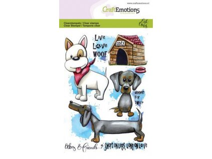 craftemotions clearstamps a6 odey friends 3 carla creaties 0 312880 en G