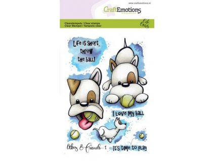 craftemotions clearstamps a6 odey friends 1 carla creaties 312878 en G