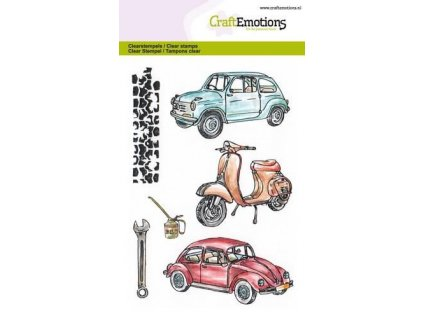 craftemotions clearstamps a6 classic cars 2 307712 en G