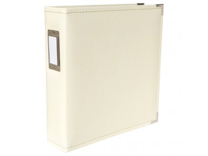 We R Memory Keepers 8.5x11 Classic Leather Album Cream