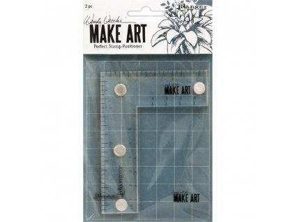 Ranger - MAKE ART / PERFECT STAMP POSITIONER / Wendy Vecchi - doplněk pro magnetické desky