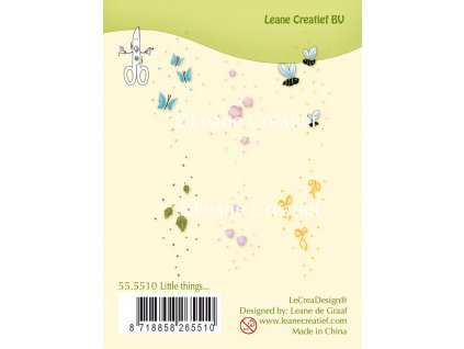 leane creatief little things clear stamps 555510