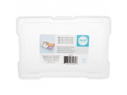 """We R - MINI PHOTO CASE / 4x6""""-  plastový obal na fotografie 10 x 15 cm"""