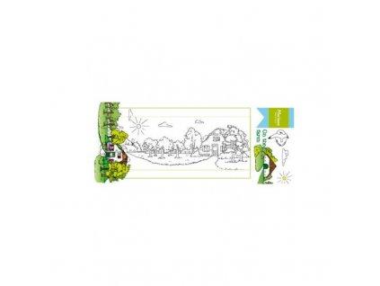 set de tampon transparent hetty s on the farm de marianne design