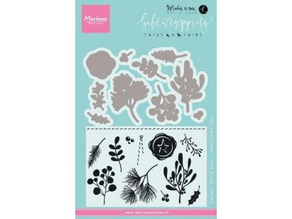 marianne d stamps giftwrapping twigs twine kj1715 305910 en G