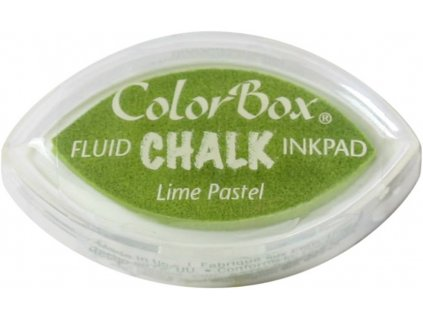 clearsnap colorbox chalk ink cats eye lime pastel