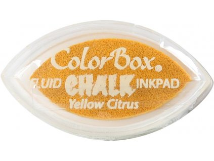 clearsnap colorbox chalk ink cats eye yellow citru