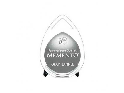 gray flannel dew drop memento ink pad