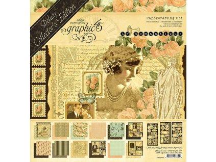 graphic 45 le romantique 12x12 inch deluxe collect 78890.1581945151