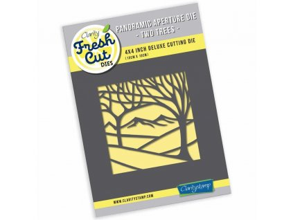 claritystamp panoramic two trees aperture die acc