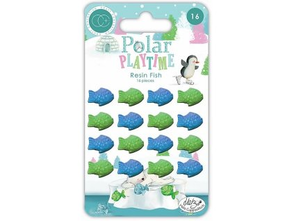craft consortium polar playtime resin fish
