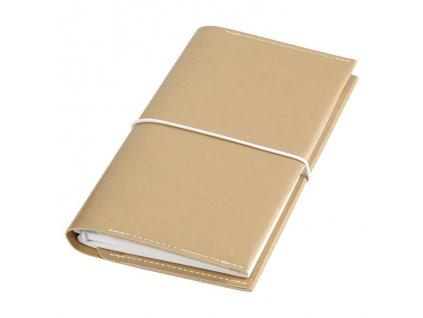 Journal & Planner - diář + tečkovaný zápisník / zlatý - 10,5 x 18x1,5 cm