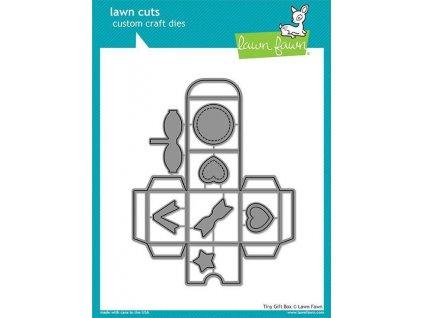lawn fawn tiny gift box dies lf1485