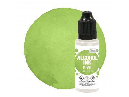 couture creations alcohol ink kiwi 12ml co727316
