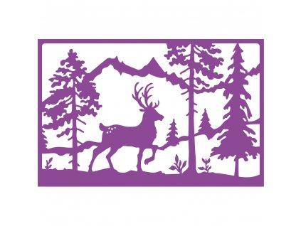 gemini nordic reindeer create a card dies gem md c