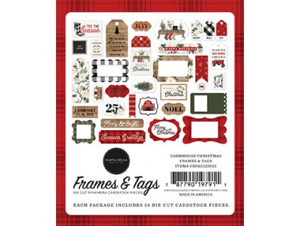 carta bella farmhouse christmas frames tags cbfac1
