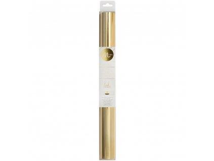 Minc / Heidi Swapp -  XXL GOLD / 31 cm x 3 metry - termo reaktivní fólie