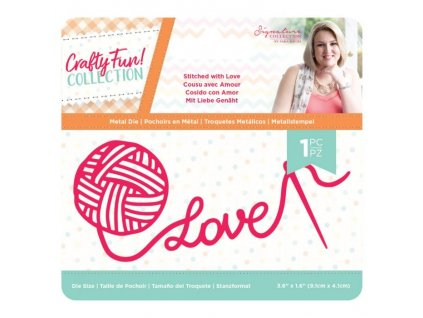 crafters companion crafty fun stitched with love d