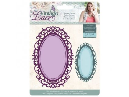 crafters companion vintage lace dies baroque frame
