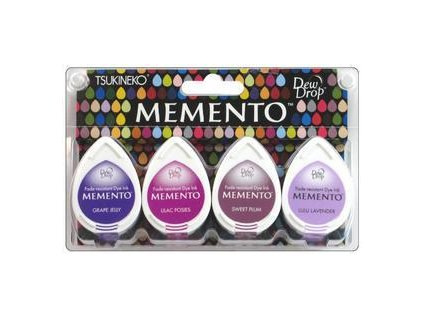 memento dew drop ink pad set juicy purples 4pk 3024746 0 1457368090000