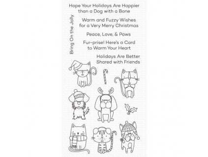 Peace Love Paws My Favorite Things Clear Stamps 849923036716 image1 80348.1599585443.600.600