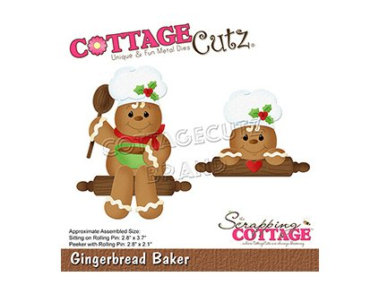 scrapping cottage gingerbread baker cc 785