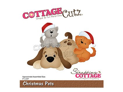 scrapping cottage christmas pets cc 784