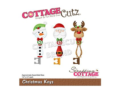scrapping cottage christmas keys cc 801