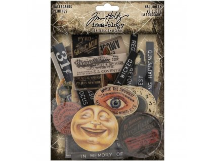 idea ology tim holtz baseboards halloween th94060
