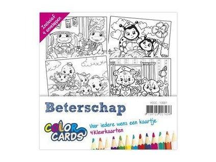 Yvonne Creations - Beterschap / Color Cards 2 - předtištěné přání