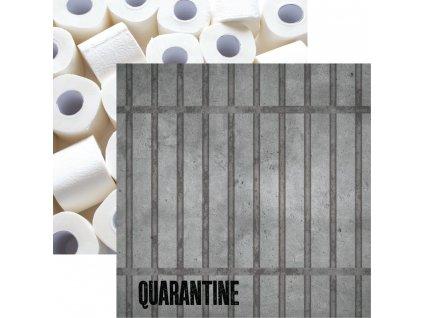 """Reminisce - QUARANTINE - 12"""" scrapbooková čtvrtka"""