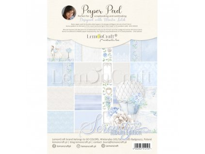 serenity album edition bloczek papierow do scrapbookingu 21x29cm lemoncraft lem sere09