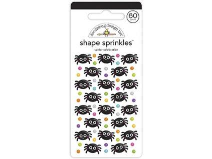 doodlebug design spider celebration shape sprinkle