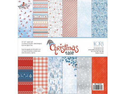 pack of papers christmas tale