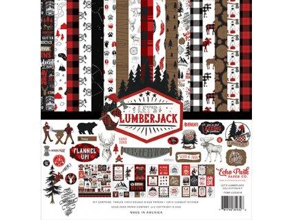 echo park lets lumberjack 12x12 inch collection ki