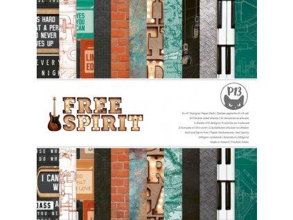 abloczek papierow free spirit 6x6