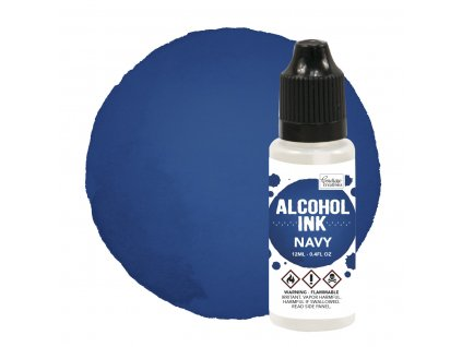 couture creations alcohol ink navy 12ml co727309