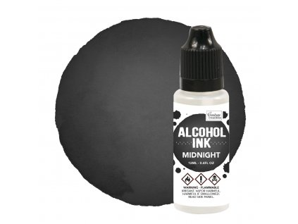 couture creations alcohol ink midnight 12ml co7273