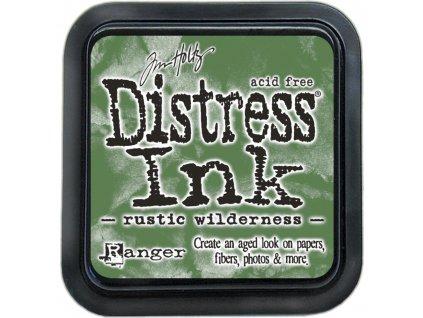 Distress Ink - RUSTIC WILDERNESS - zelená razítkovací barva